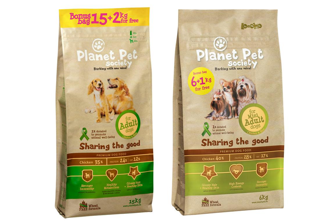 Wiosenne promocje na pokarmy Planet Pet Society