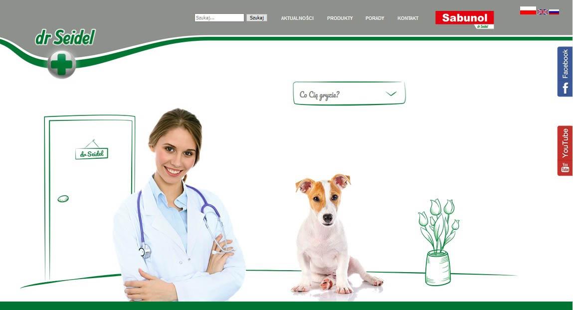 Nowa strona internetowa marki dr Seidel