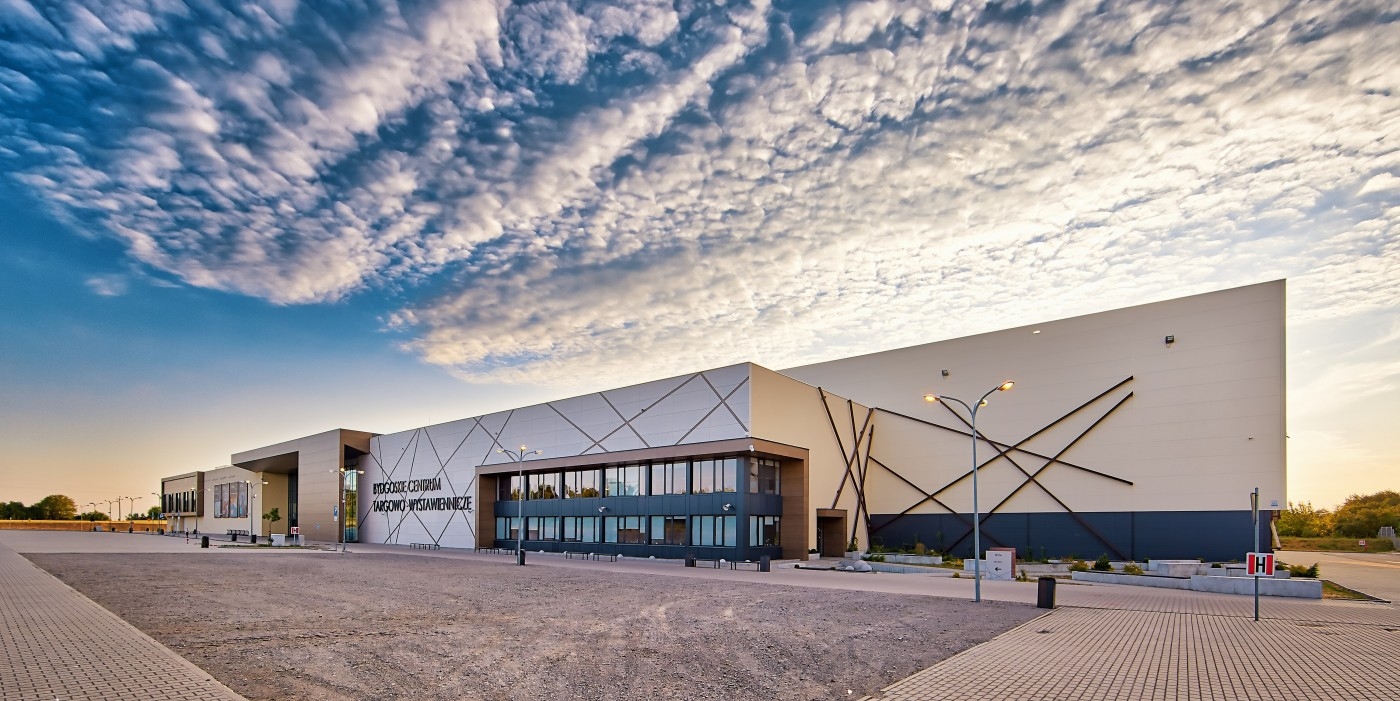 Bydgoskie Centrum Targowo-Wystawiennicze:  nowoczesna przestrzeń eventowa
