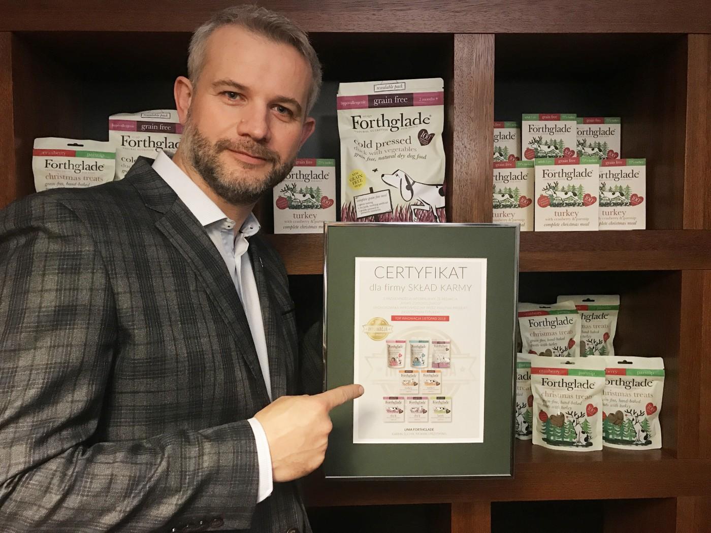 Produkty Forthglade zdobyły tytuł TOP INNOWACJI!
