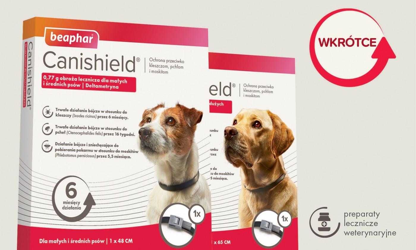 Canishield – obroże z deltametryną dla psów