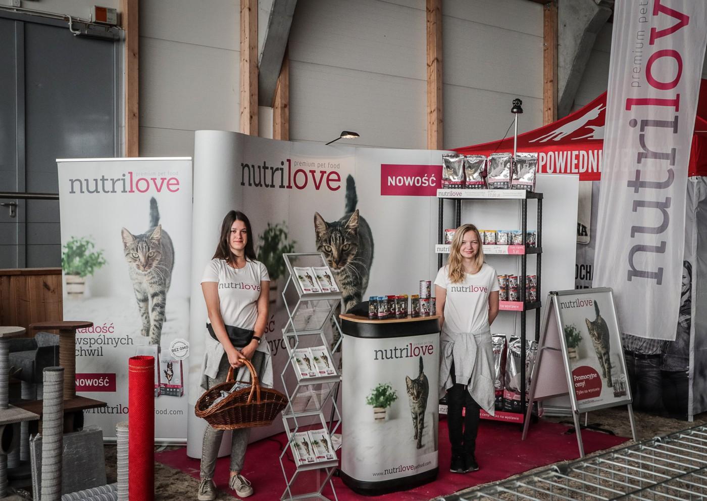 Nutrilove na międzynarodowych wystawach kotów i psów w Sopocie